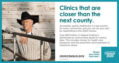 Census Partnership Rural Half-Pager: Clinics that are closer to